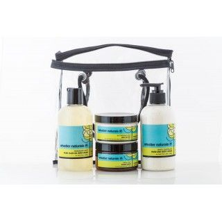 Whistler Naturals Vegan Skin Care - Pure Indulgence Gift Bag Using a 100% natural, unique probiotic based preservative system that is actually good for your skin!    Free from parabens, phthalates, propelyn glycol, laurel or laureth sulphates, phenoxyethenol, synthetic preservatives, or artificial colours.