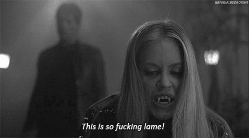 And one HELL of a temper. | 27 Gifs Showing Why Pam Is My Favorite True Blood Character