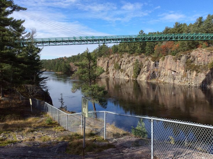 South Down The French River
