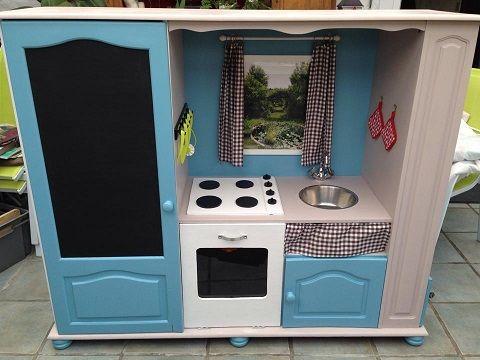 Comment transformer un meuble Tv en cuisinière pour enfants