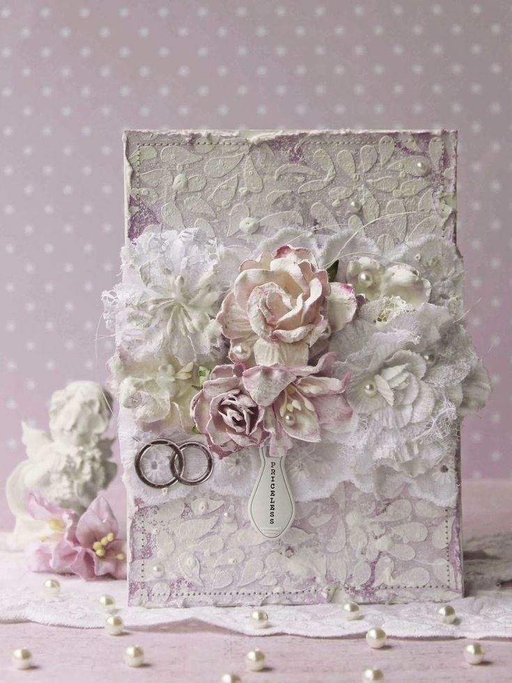 Свадебная открытка шебби шик
