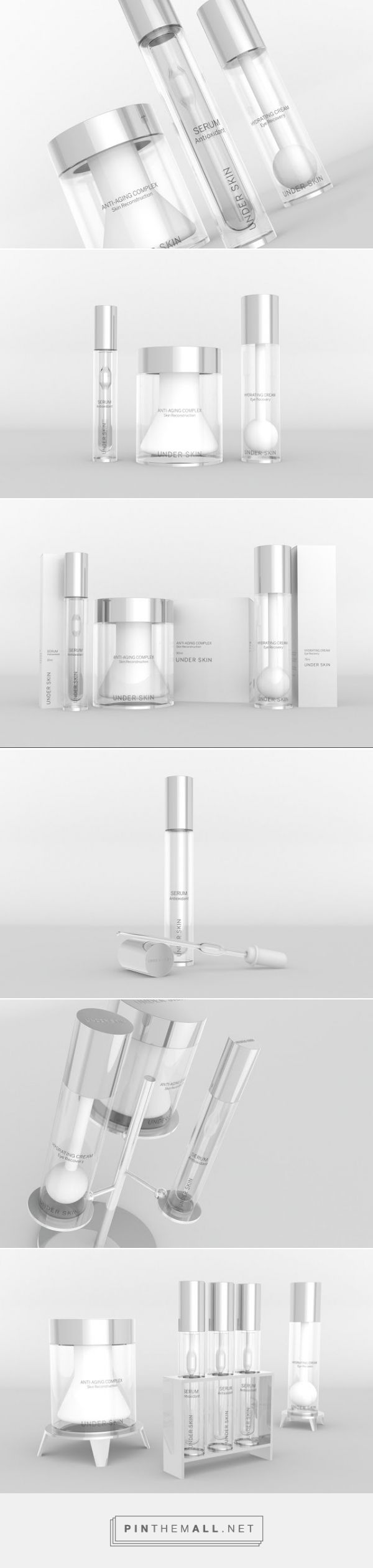 Under Skin #Beauty #Concept #packaging designed by Cristiano Gonçalo - http://www.packagingoftheworld.com/2015/06/under-skin-concept.html