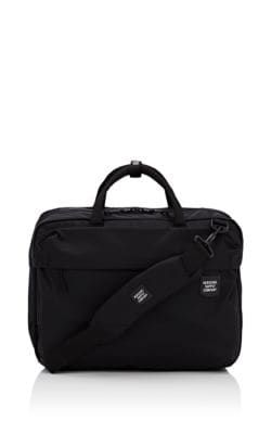 b7519f53371 HERSCHEL SUPPLY CO. BRITANNIA CONVERTIBLE MESSENGER BAG - BLACK.   herschelsupplyco.  bags  canvas  nylon  backpacks