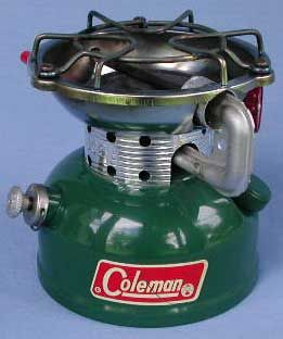 Coleman 502, I've been collecting vintage Coleman camping items and got one of these.  Pretty cool stove!