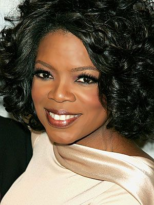 "Oprah - an inspiration to me for her character, strength and soul. In her own words...  ""Breathe. Let go. And remind yourself that this very moment is the only one you know you have for sure."""