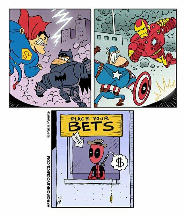 Two movies to come: Batman vs Superman, and CA:Civil War #TeamCap