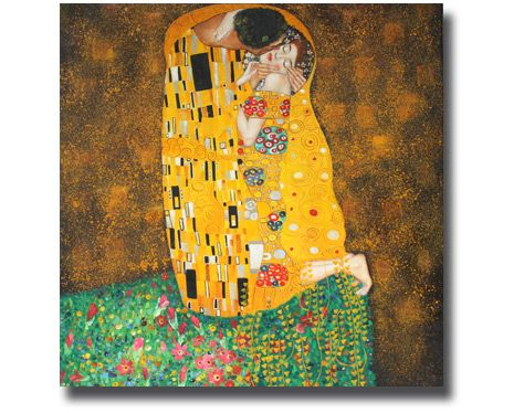 Gustav Klimt Der Kuss Ölgemälde | Ölgemälde Gustav Klimt Der Kuss | Kuss | Leinwandbild Gustav Klimt | Kunstkopie | Kunstkopien | Gemäldereplikation | Reproduktion | Alte Meister | Öl auf Leinwand | handgemalt  | Ölgemälde Alter Meister |Gemälde vom Foto | Auftragsmaler | Ölgemälde Kopien | https://www.paintify.de/de/kunstmarkt/alte-meister
