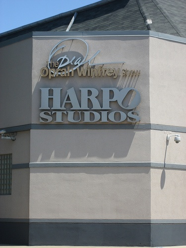 Attended two tapings of The Oprah Show at Harpo's Studio's.....