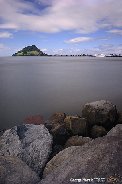 Mount Maunganui - port for visiting Rotorua, North Island, New Zealand - been there!