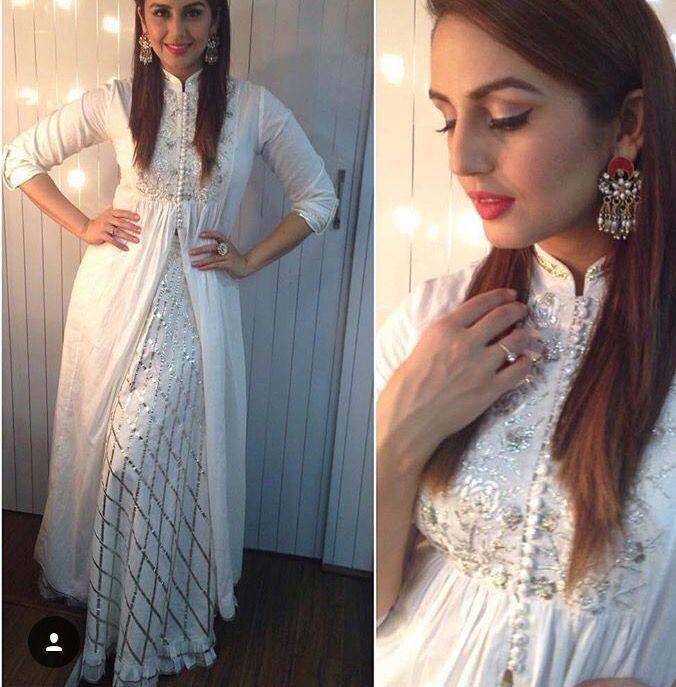 Sukriti n Akriti # white love # sharara love# huma Qureshi # Bollywood fashion