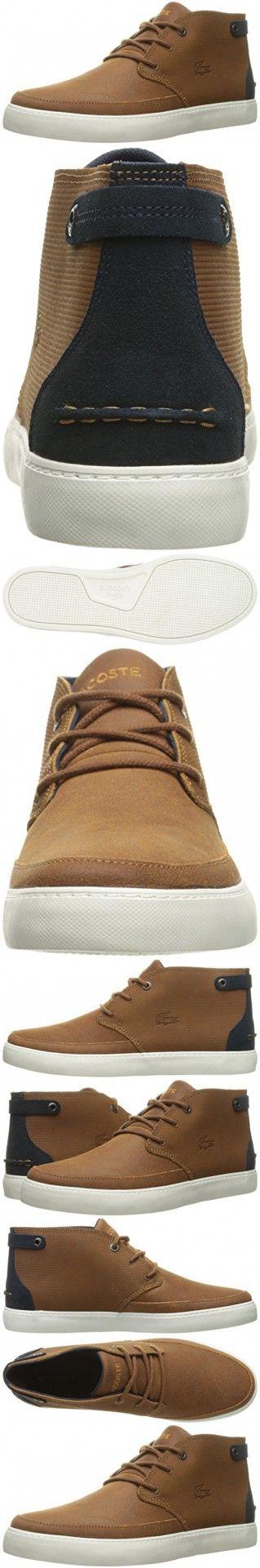 Lacoste Men's Clavel M 316 1 Cam Boot, Tan, 9.5 M US