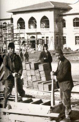 Ankara 2. Meclis Binası İnşa Halinde (1924)