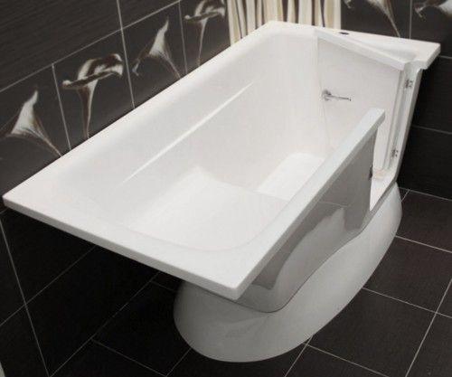 Budoplast Modern Badewanne mit Tür Seniorenbadewanne Sitzbadewanne 150 x 76 x 70 cm Rechts - Seniorenbadewanne - Badewannen - Bad & Küche | Bestshop24.eu