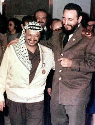 Arafat y Castro.