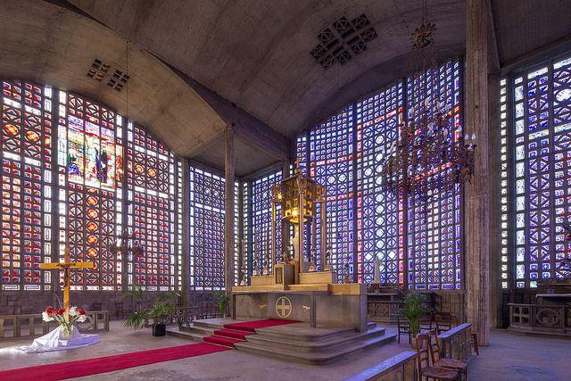 Auguste Perret (architecte), Notre Dame, Le Raincy, 1922-23