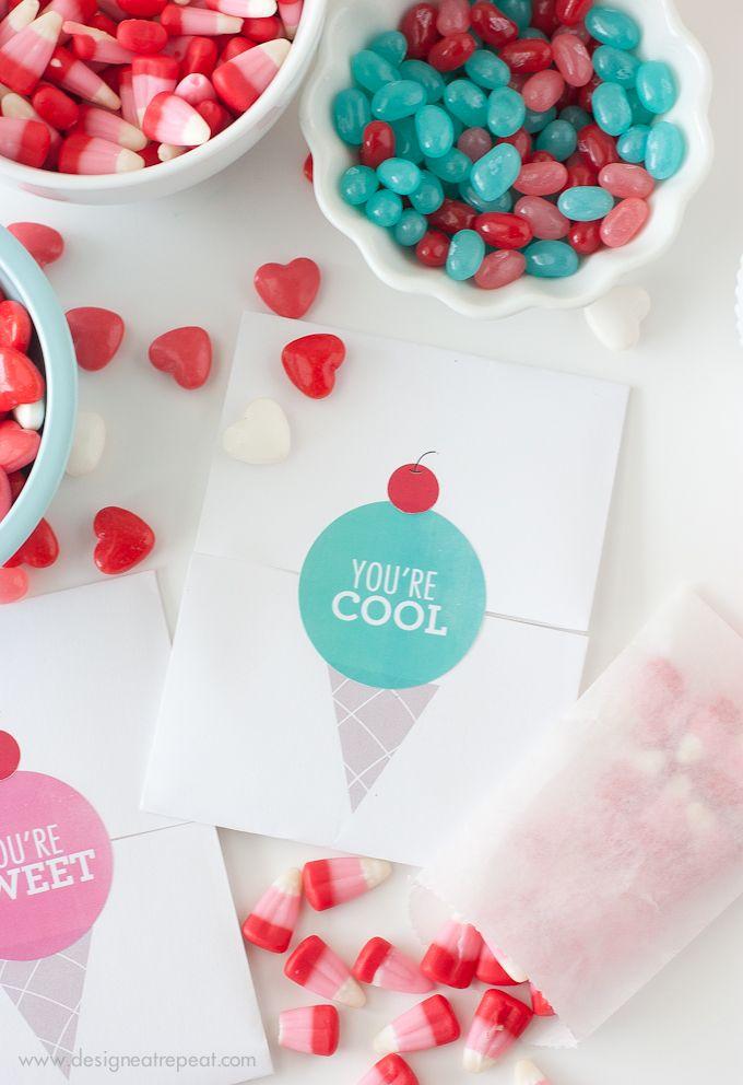 Free Printable DIY Valentines