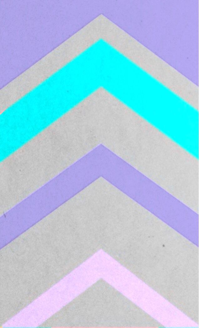 teal pink purple triangle chevron pattern iphone