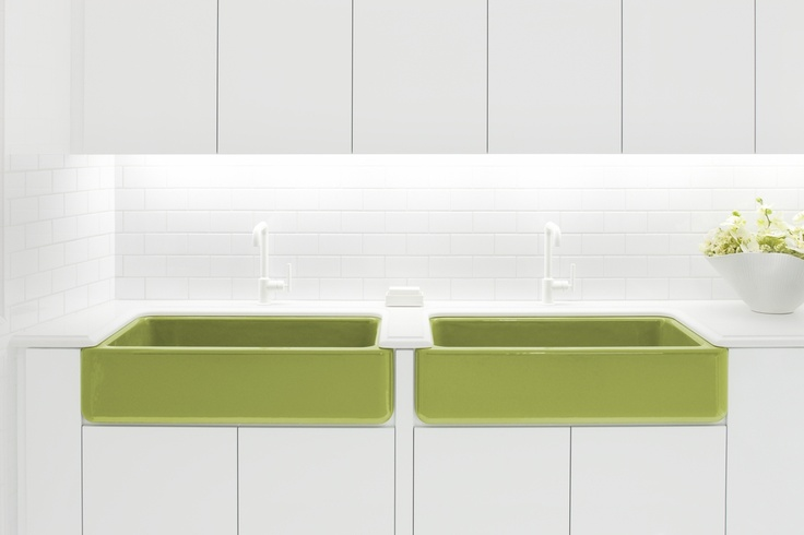 17 best images about color pops in kitchen and baths on pinterest green palermo and outdoor - Kohler kitchen sink colors ...