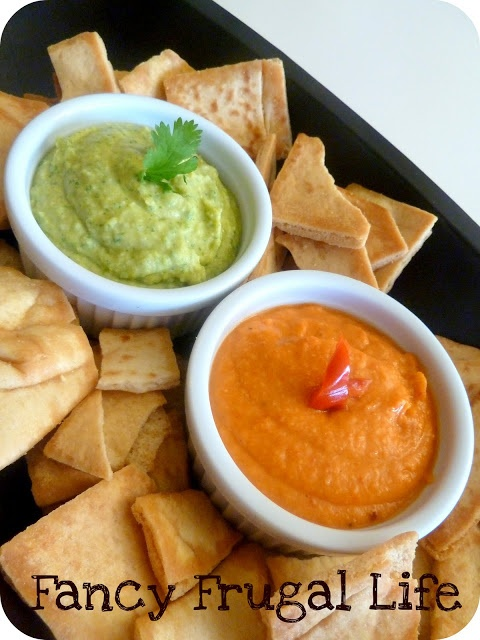 Hummus & Roasted Red Pepper Hummus Recipes Red Pepper Hummus, Jalapeno ...