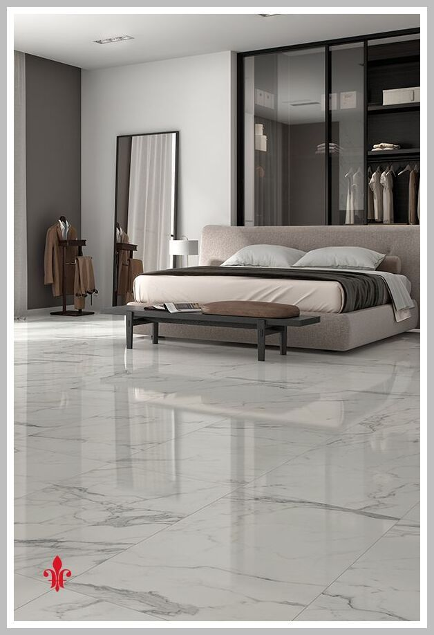 56 Reference Of Marble Floor Bedroom Ideas In 2020 Marble Flooring Design Floor Design Tile Bedroom