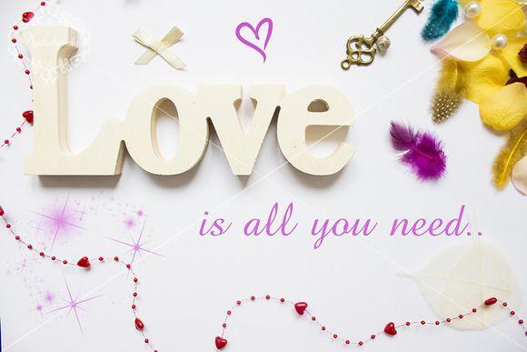 Love template by digitalopedia on Creative Market