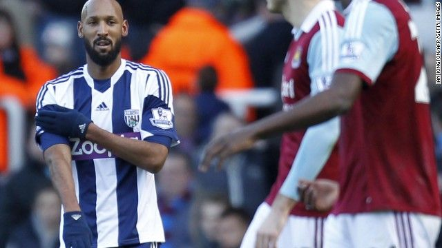 Nicolas Anelka defends 'shocking' on-field gesture -- Poor Republicans and black Nazis. Who knew!