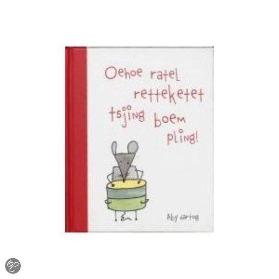 Aby Hartog  Ratel retteketet ....Kort voorlees verhaaltje over een muis die een feestje wil geven met muziek en op zoek gaat naar har trompet...bib muntpunt Brussel bij mini bib kinderen Muziek