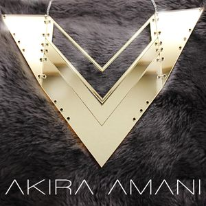 Statement necklace called Victory Beautifully designed and carefully crafted. This necklace represents victory with it's strong abstract structure inspired by the breastplates from suits of armour worn in the 19th century. It's angular form creates a modern take on the original plates that symbolised strength.  This necklace looks incredible with a black dress yet also works everyday wear completely transforming your outfit.