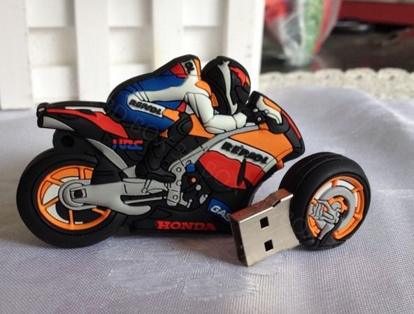 Repsol Honda Moto GP USB 2.0 4GB 8GB 16GB 32GB 64GB moto cartoon usb flash drive pendrive