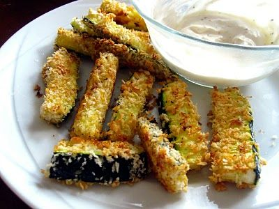 Food and Whine: Baked Zucchini SticksWhining, Baked Zucchini, Recipe, Yummy Food, Healthy Eating, Yummy Treats, Healthy Food, Fries Zucchini, Baking Zucchini Sticks