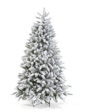 Christmas snowy tree