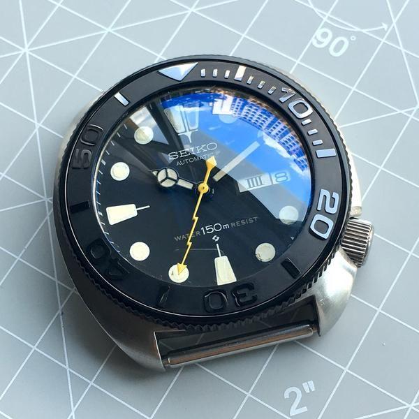 DLW Watches - Seiko modification part - Ceramic bezel insert for Seiko SKX007 SKX009 SKX011