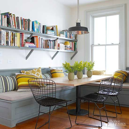 Cultivate your love for modern farmhouse decor cuisine for Banquette cuisine moderne