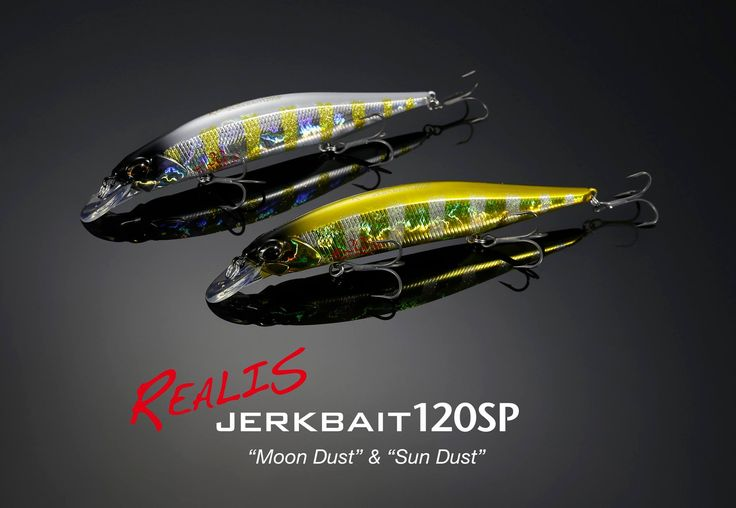 Duo Realis Jerkbait 120SP 20.Anniversary Colors DDAZ067 Sun Dust and DDAZ068 Moon Dust