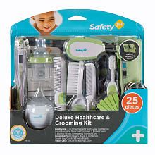 Safety 1st Deluxe Healthcare and Grooming Kit (Best baby grooming/healthcare kit)