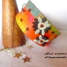 New collection : bracelet fluo et fleuri