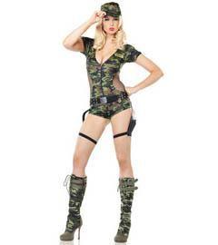 Армейские костюмы для девушек