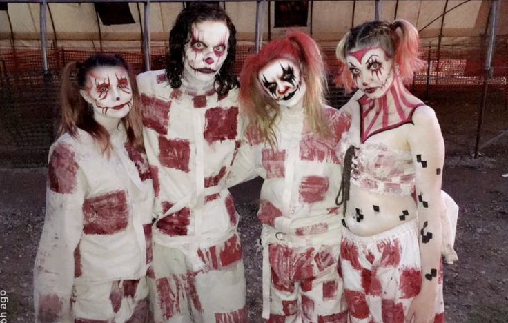 come see the clown family that awaits inside Statesville Haunted Prison in Crest Hill, IL!
