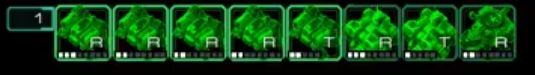 What do these letters on building control groups mean? #games #Starcraft #Starcraft2 #SC2 #gamingnews #blizzard