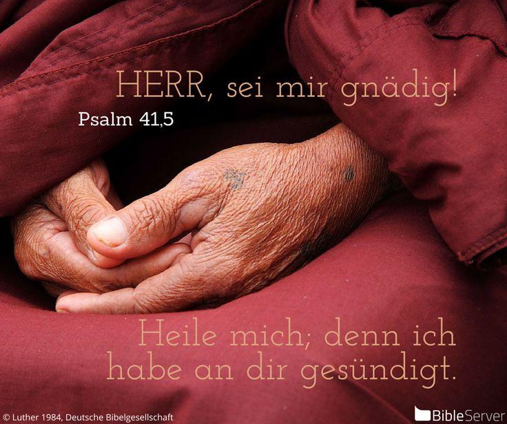 Nachzulesen auf BibleServer   Psalm 41,5