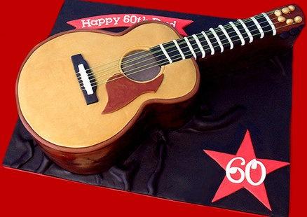 17 best Guitar cake images on Pinterest Guitar cake