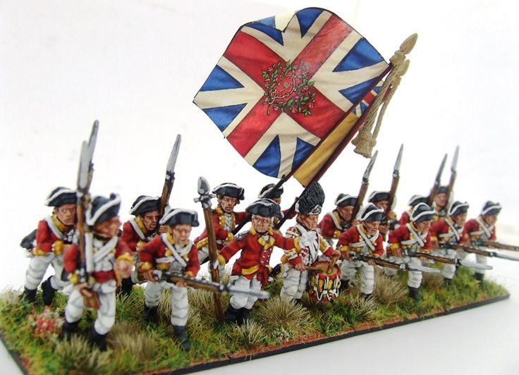 Land of the Lead: 28mm AWI Foundry Brits (10th Foot)