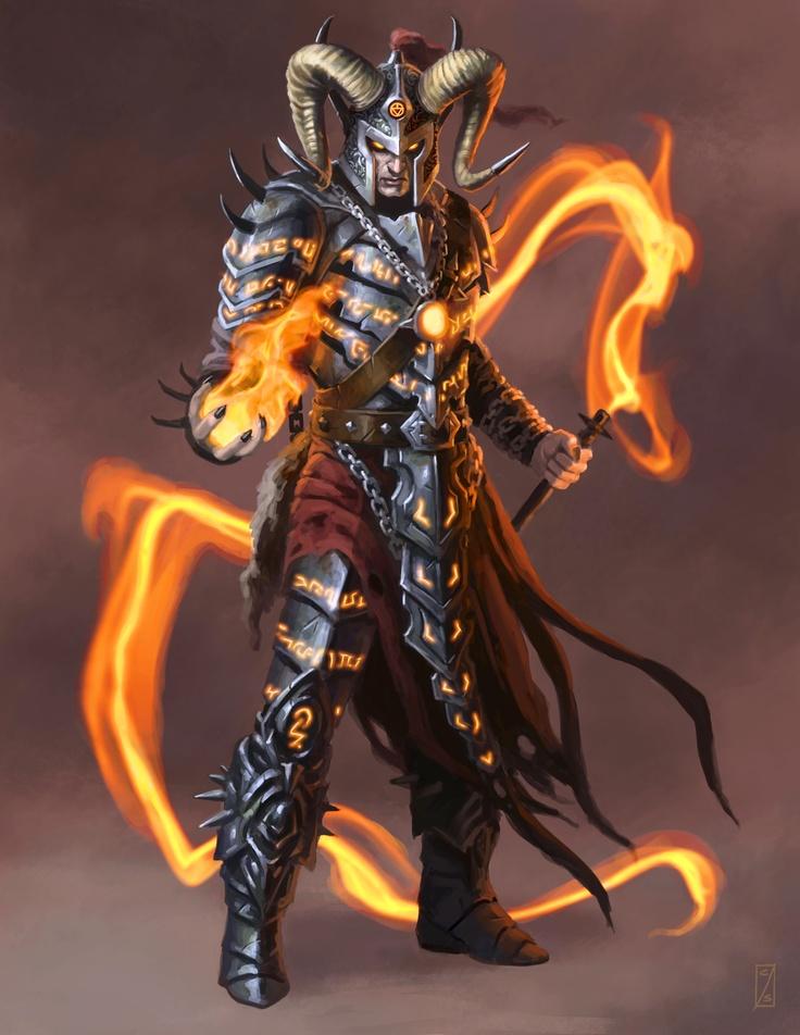 Warlock  [ Mage - Wizard - Sorcerer - Magic - Sorcery ]