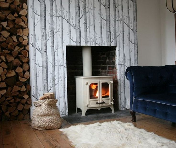 20 Beautiful Wood Burning Fireplace Designs Fireplace