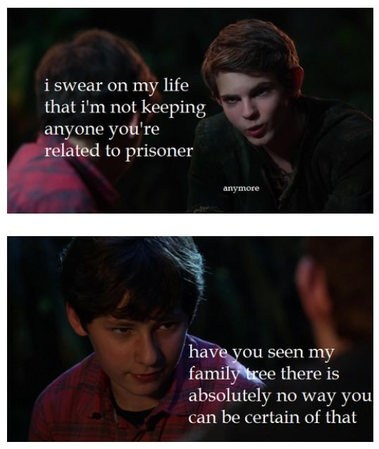 This is true. Peter needs to be more certain when it comes to Henry's family…