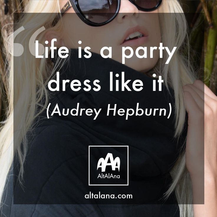 """life is a party, dress like it!""  altalana.com #madeinitaly"