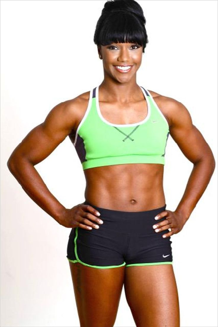 USA Track and Field Gold Medalist Carmelita Jeter | Body Beast ...