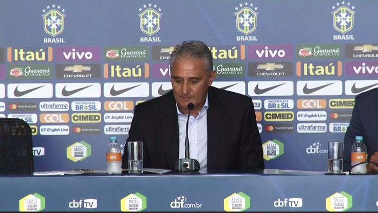 """Tite elogia Diego por treinar nas férias e afirma: """"Não vamos baixar a guarda"""" #globoesporte"""