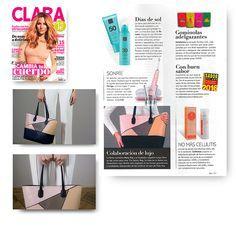 Revista Clara junio 2016. Bolso diseñado por Juanjo Oliva para Mary Kay.  #MaryKay #MaryKayEspaña #Colaboración #Belleza #Diseñador #Moda #JuanjoOliva #Medios #Revista #Revistas