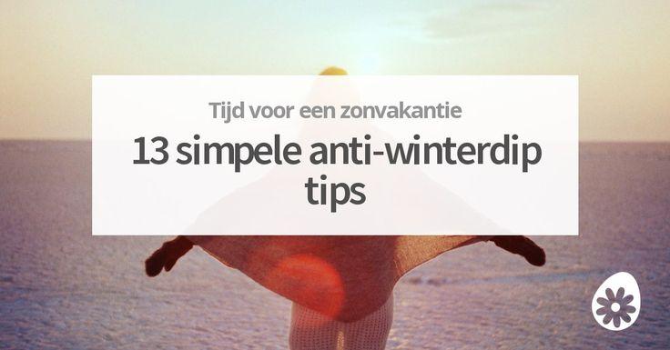 Dikke lagen bewolking, korte dagen en voorlopig geen warm weer in aantocht. Heb jij last van de winterdip? Wij hebben een aantal praktische tips die je helpen een stukje vrolijker te worden!